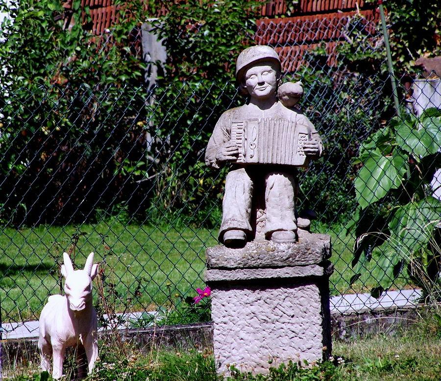 Peter und seine Ziege