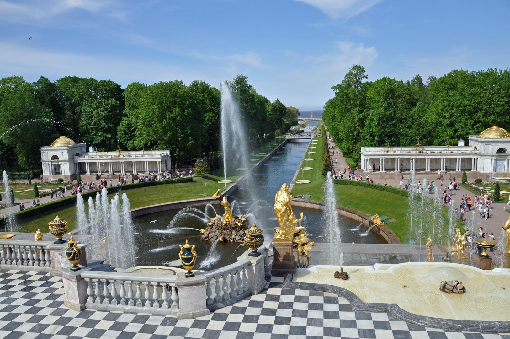 Peterhof bei St. Petersburg