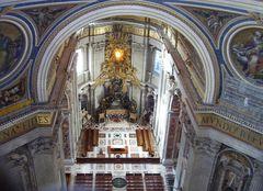 Peters Dom kleiner Altar