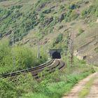 Petersberg-Tunnel bei Neef (Mosel)