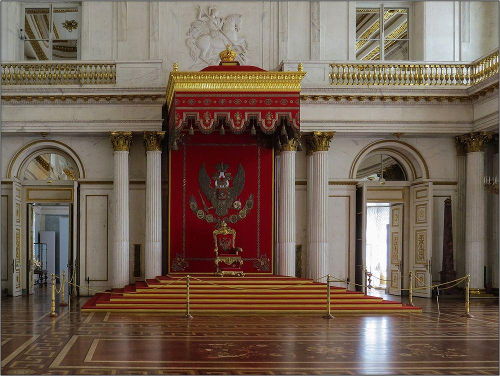 Petersburger Impressionen 24 - Thronsaal