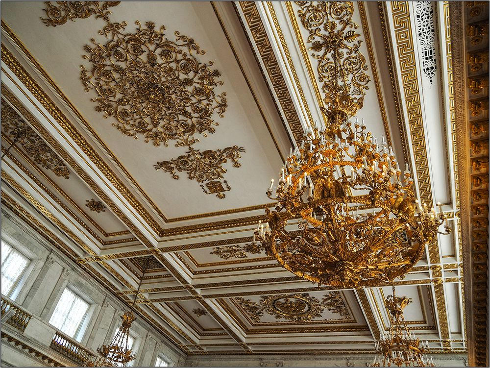 Petersburger Impressionen 24 - Thronsaaldecke