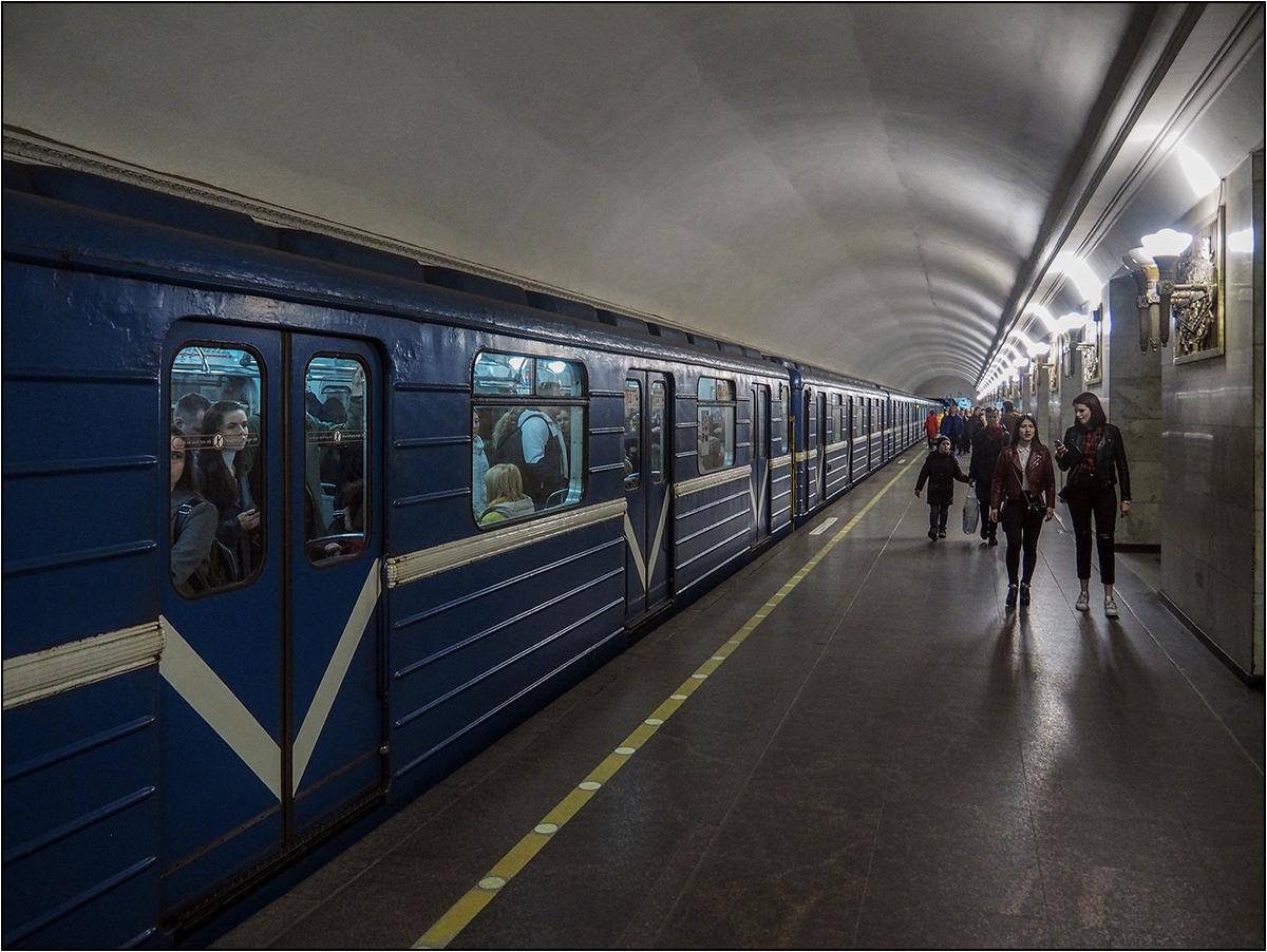 Petersburger Impressionen 27 - U-Bahn