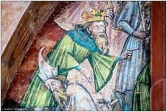 Peterskirche - Wandmalerei
