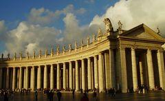 Petersplatz Säulen
