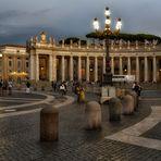 Petersplatz - San Pietro Roma  -