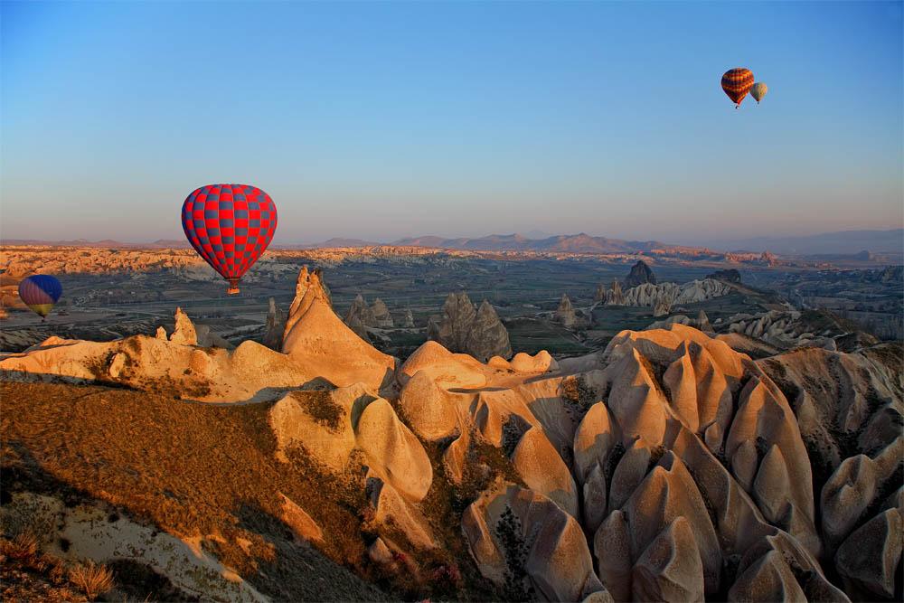 Petit matin en Cappadoce