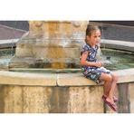 Petite Fille à la Fontaine