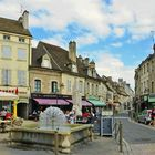Petite Place Carnot in Beaune, Bourgogne...