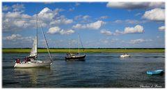 Petits bateaux qui vont sur l'eau