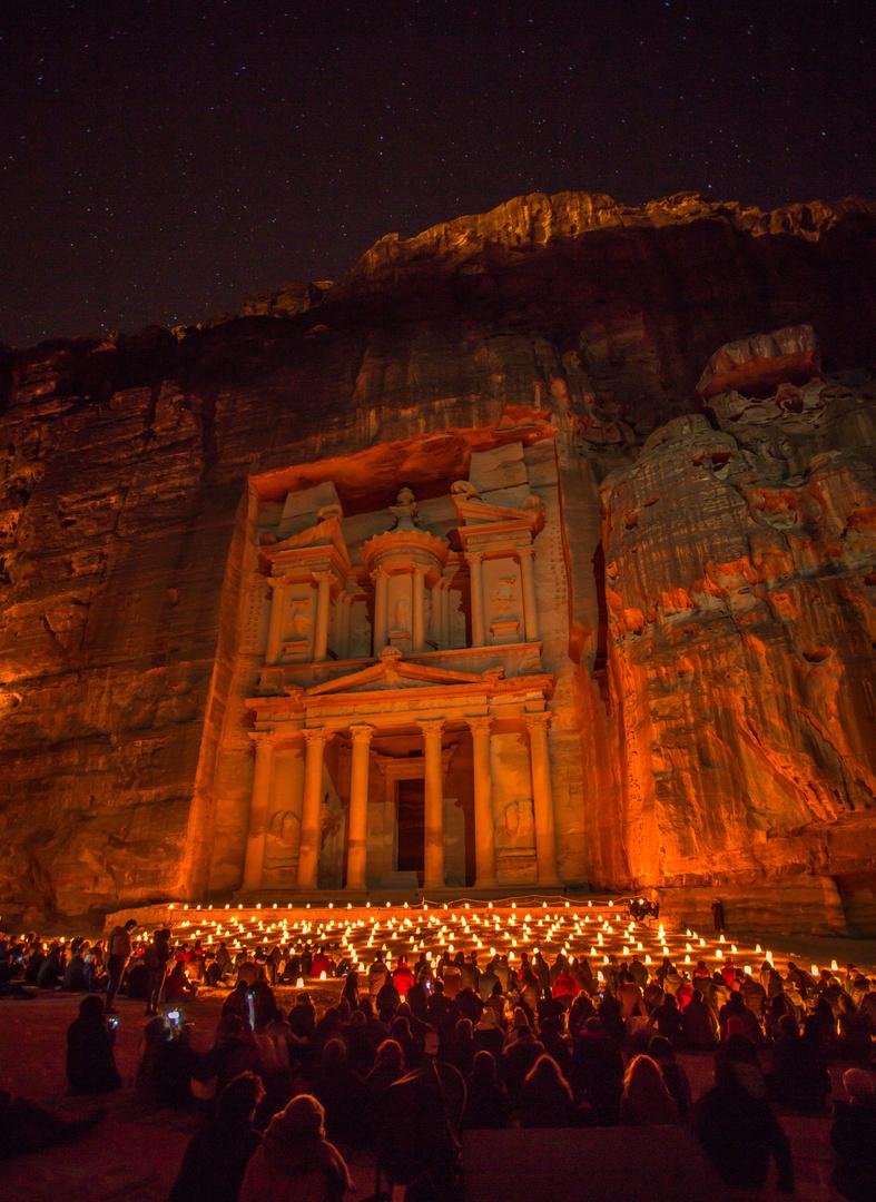 Petra bei Nacht 4