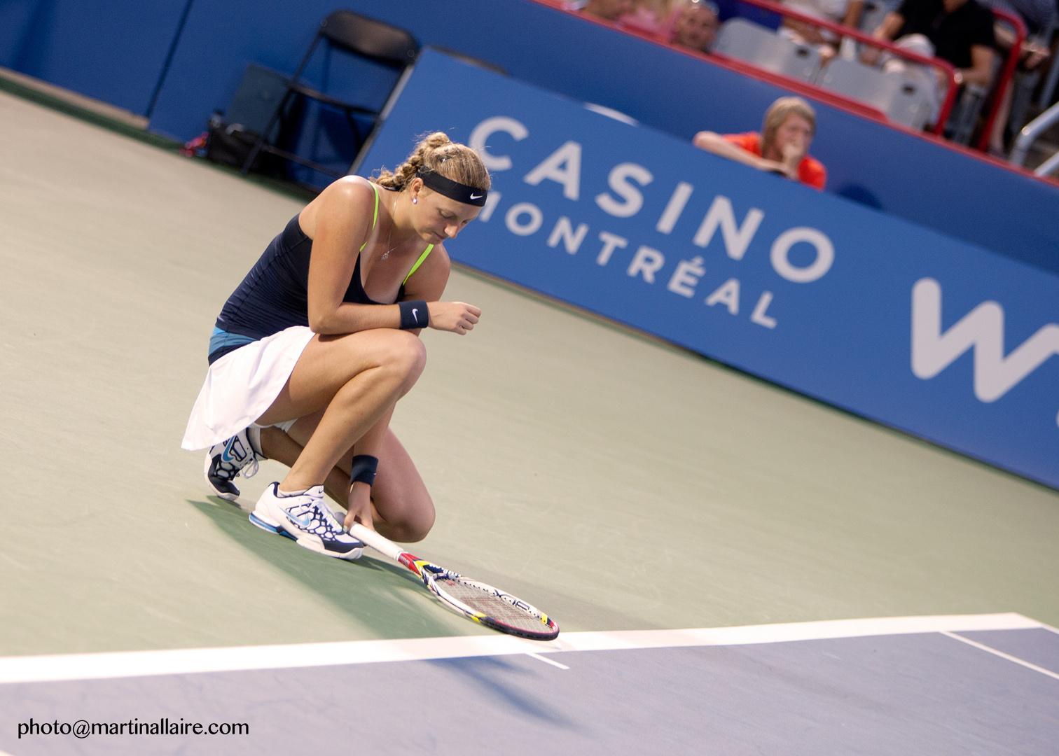 Petra Kvitova at Coupe Rogers