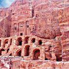 Pétra, la cité rose - Tombe de l'Urne