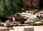 Petra: Maultiertaxistation
