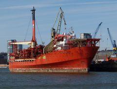 Petrol Jarl Banff   -   Öllagerungs- und Verarbeiterungsschiff