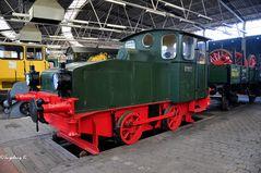 Petroleum-Lokomotive - Baujahr 1912 -