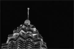 Petronas in the dark