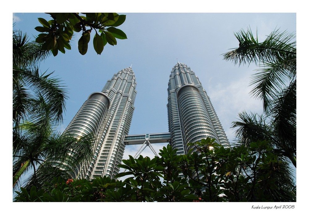 Petronas Twin Towers // The other view