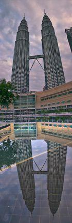 Petronas Twins - doubled