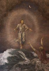 Petrus auf dem Meer