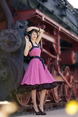Petticoat trifft Dampflok