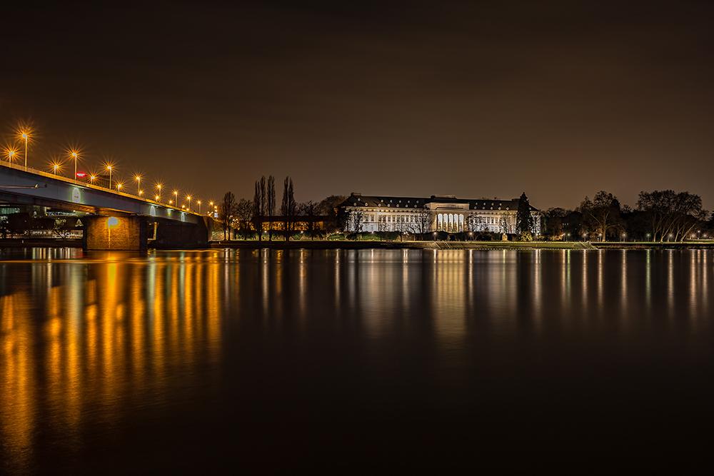 Pfaffendorfer Brücke und Kurfürstliches Schloss
