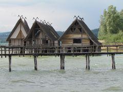 Pfahlbauten à Unteruhldingen (Bodensee - Lac de Constance)