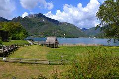 Pfahlbauten am Ledro-See
