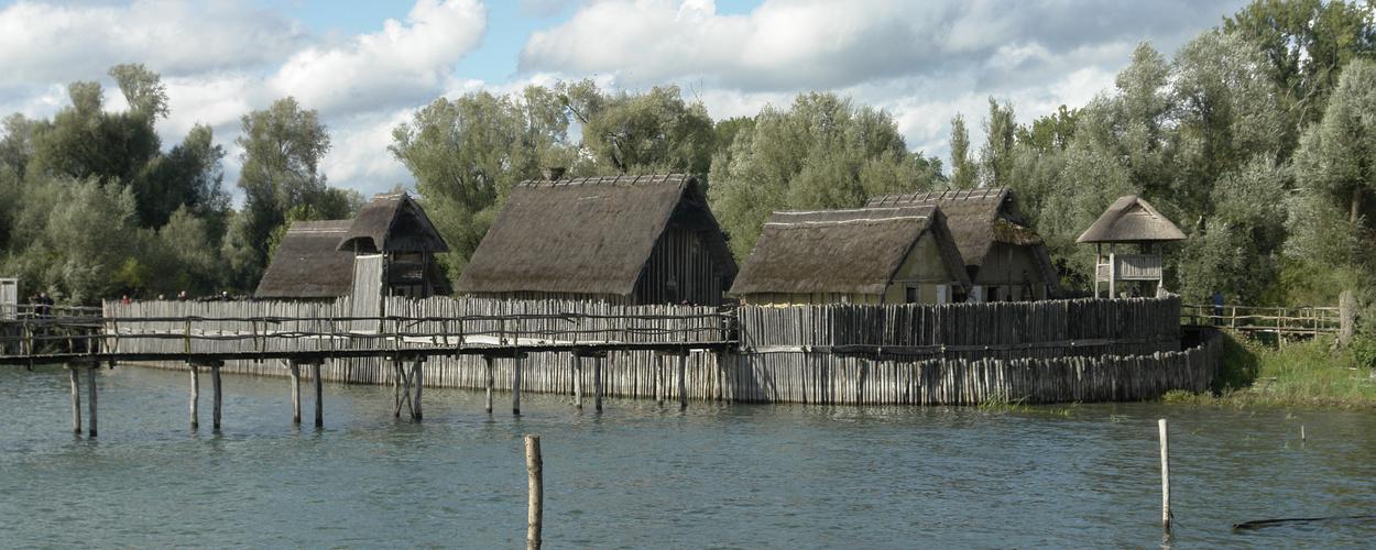 Pfahlbauten-Museum in Unteruhldingen am Bodensee