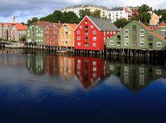 Pfahlbauten von Trondheim