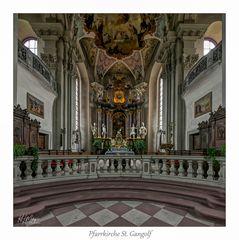 "Pfarrkiche St. Gangolf  - Amorbach "" Gott zu Gefallen..."""