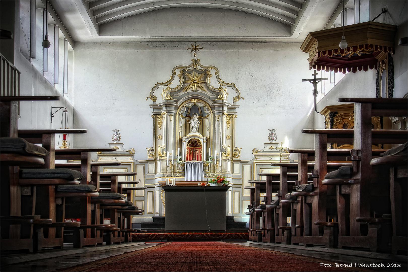 Pfarrkirche in Rickelrath .....