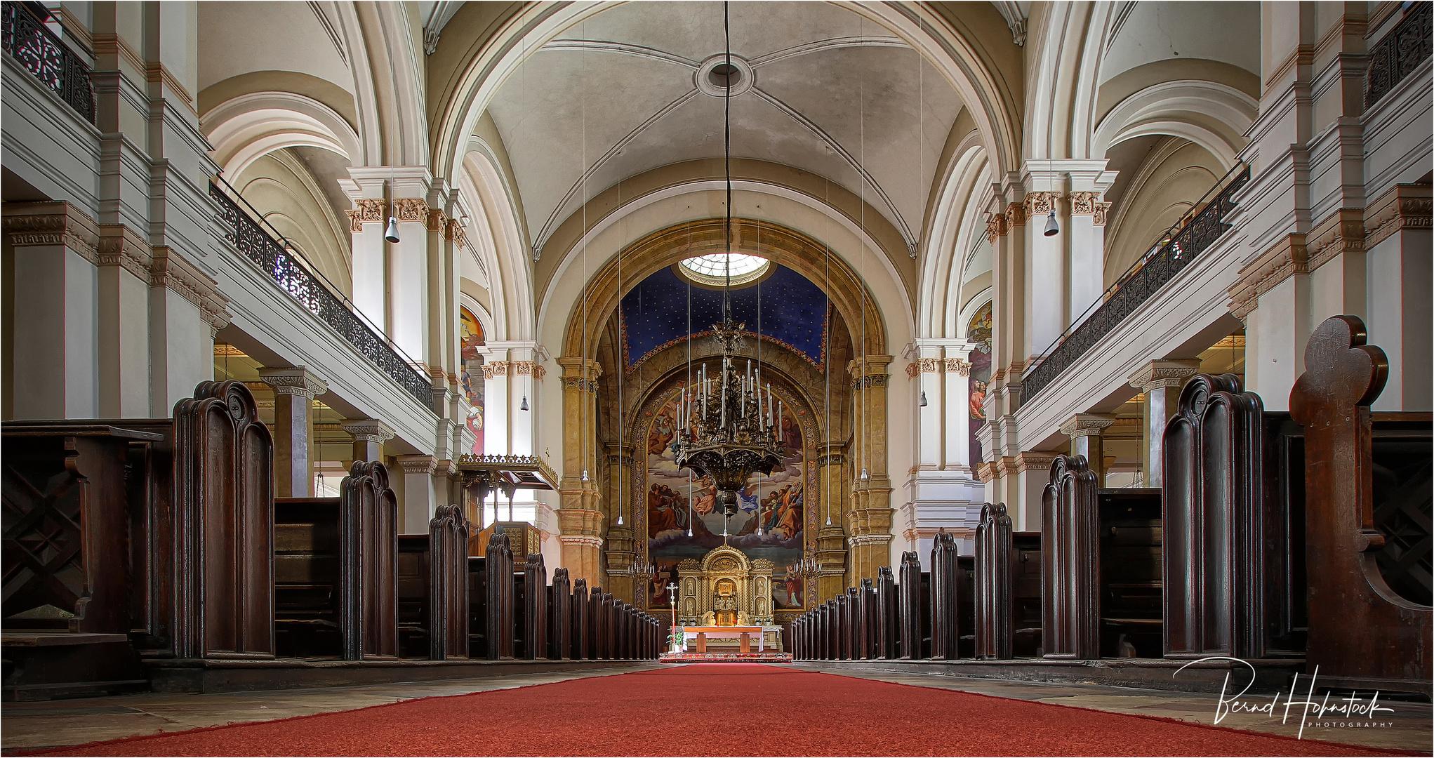 Pfarrkirche Johannes Nepomuk  zu Wien ...