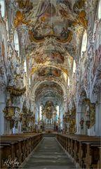 """Pfarrkirche Maria Geburt - Rottenbuch """" Gott zu Gefallen... """""""