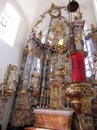 Pfarrkirche Mariä Himmelfahrt Scheinfeld Hochaltar