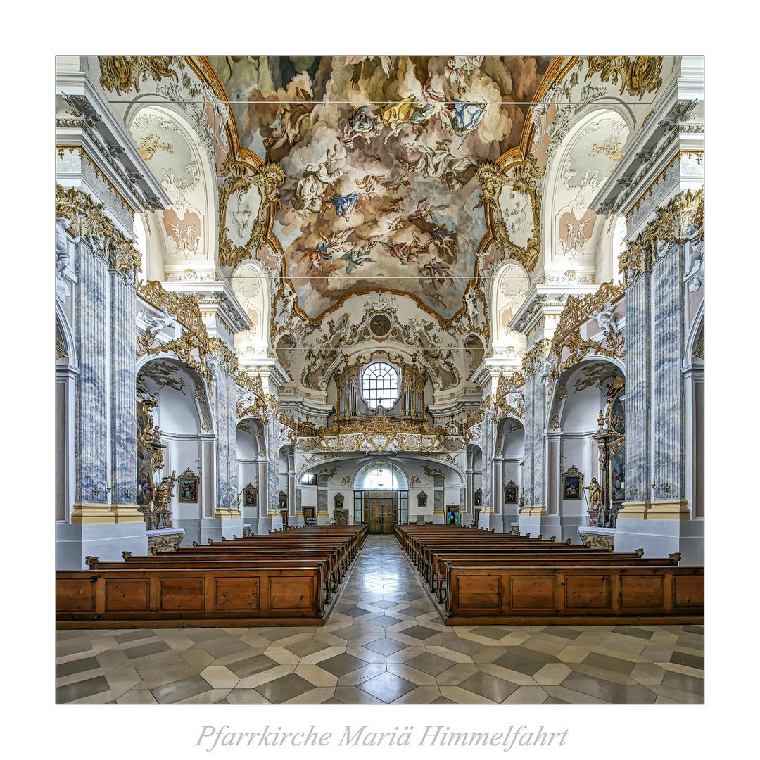 """Pfarrkirche Mariä Himmelfahrt_Fürstenzell """" Gott zu Gefallen..."""""""