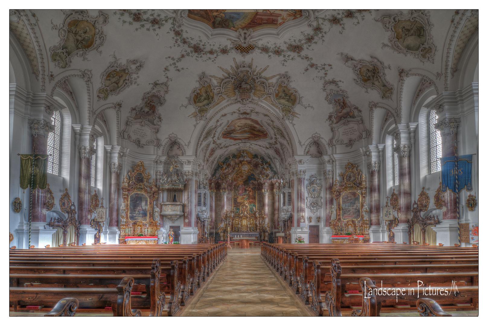 Pfarrkirche St. Andreas in Nesselwang