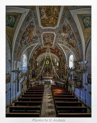 """Pfarrkirche St. Andreas  - Pemfling """" Gott zu Gefallen... """""""