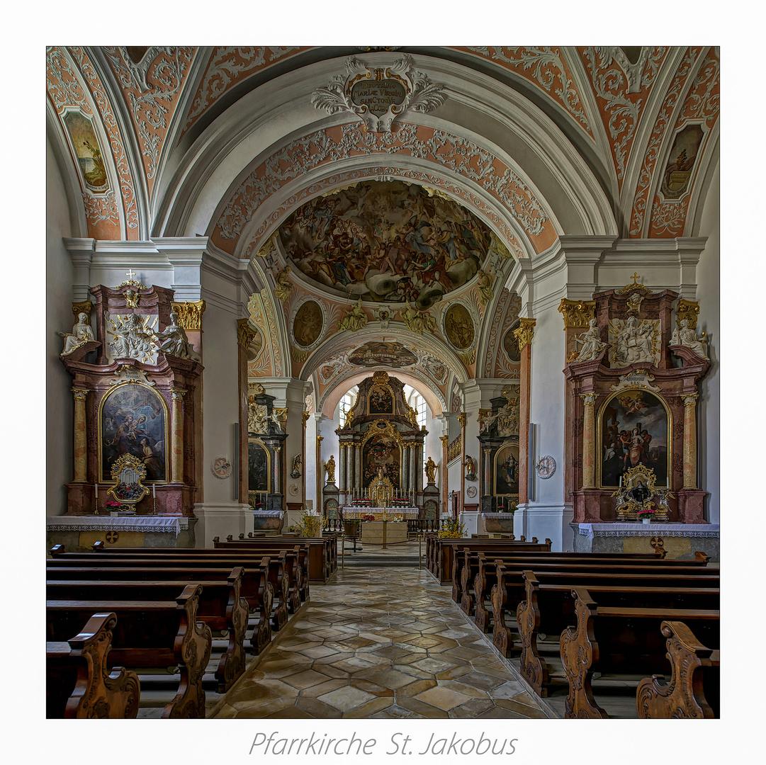 """Pfarrkirche St. Jakobus  - Ensdorf """" Gott zu Gefallen... """""""