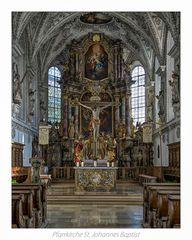 """Pfarrkirche St. Johannes Baptist-Kaufering """" Gott zu Gefallen..."""""""