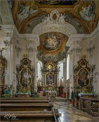 """Pfarrkirche St. Leonhard - Lutzingen """" Gott zu Gefallen... """""""