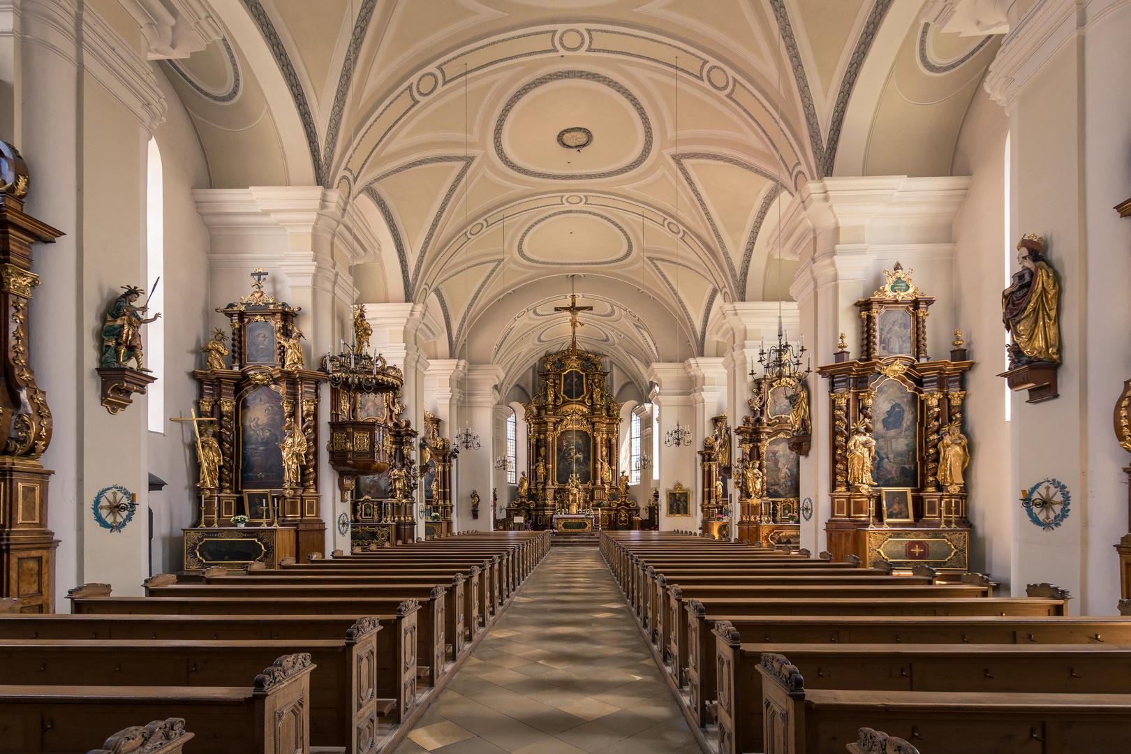 Pfarrkirche St Maria Landau Ad Isar Foto Bild Kirche