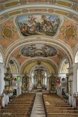 """Pfarrkirche St. Martin-Garmisch Partenkirchen """" Gott zu Gefallen... """""""