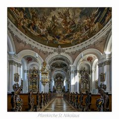 """Pfarrkirche St. Nikolaus (Murnau am Staffelsee) """" Gott zu Gefallen..."""""""