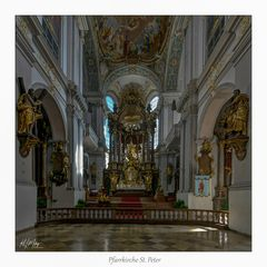 """Pfarrkirche St. Peter - München """" Gott zu Gefallen..."""""""