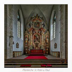 """Pfarrkirche St. Peter und Paul ( Gehrden ) """" Gott zu Gefallen... """""""
