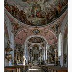 """Pfarrkirche St. Peter und Paul (Oberammergau) """" Gott zu Gefallen.... """""""