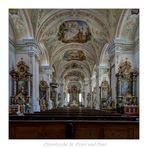 """Pfarrkirche St. Peter und Paul _Weyarn """" Gott zu Gefallen..."""