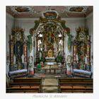 """Pfarrkirche St. Wendelin (Eyershausen) """" Gott zu Gefallen..."""""""
