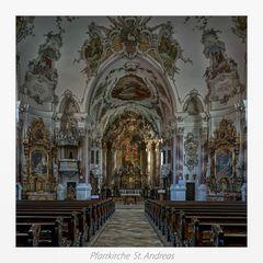 """Pfarrkiriche St. Andreas (Nesselwang)  """" Gott zu Gefallen.... """""""